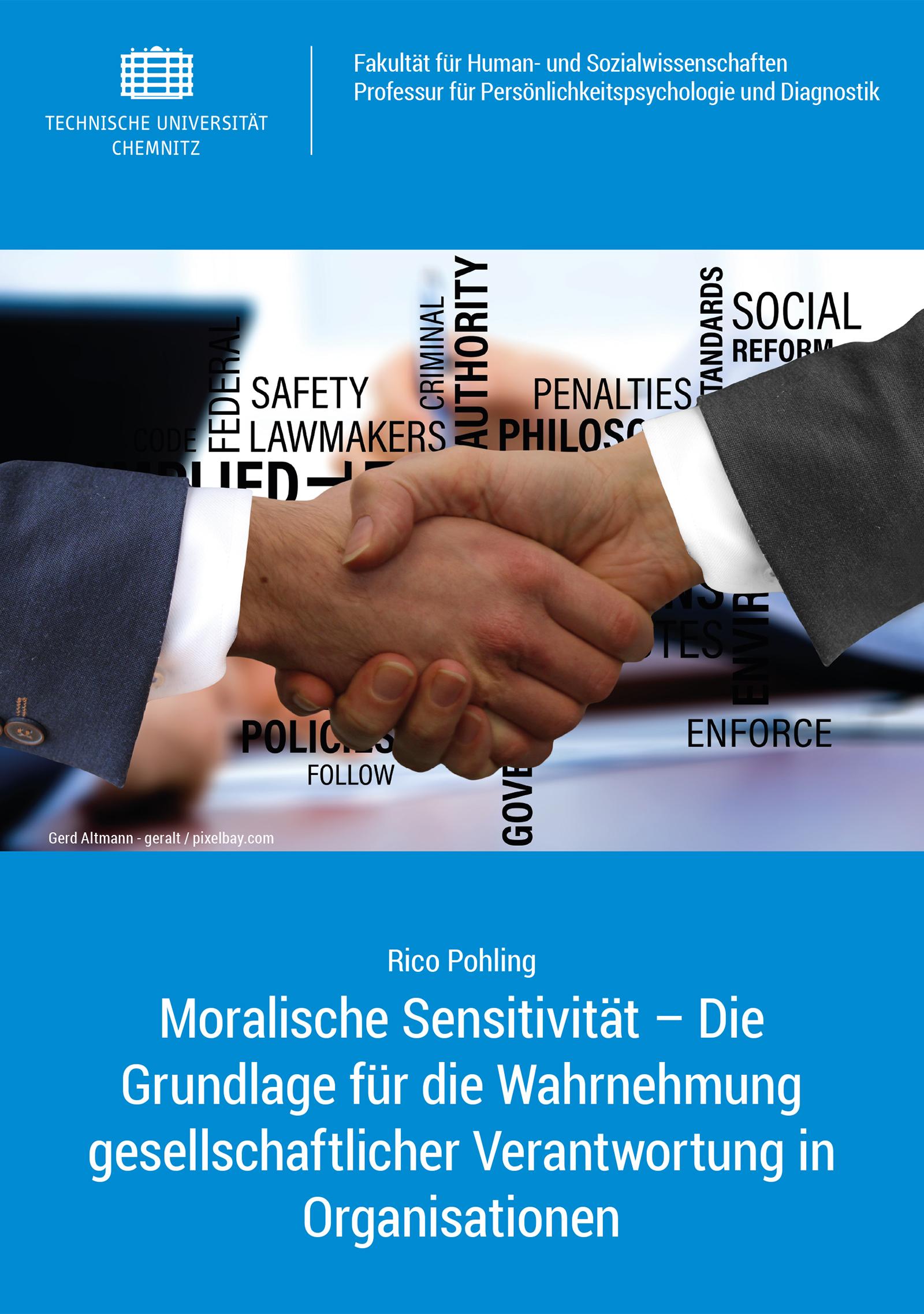 Cover: Moralische Sensitivität – Die Grundlage für die Wahrnehmung gesellschaftlicher Verantwortung in Organisationen