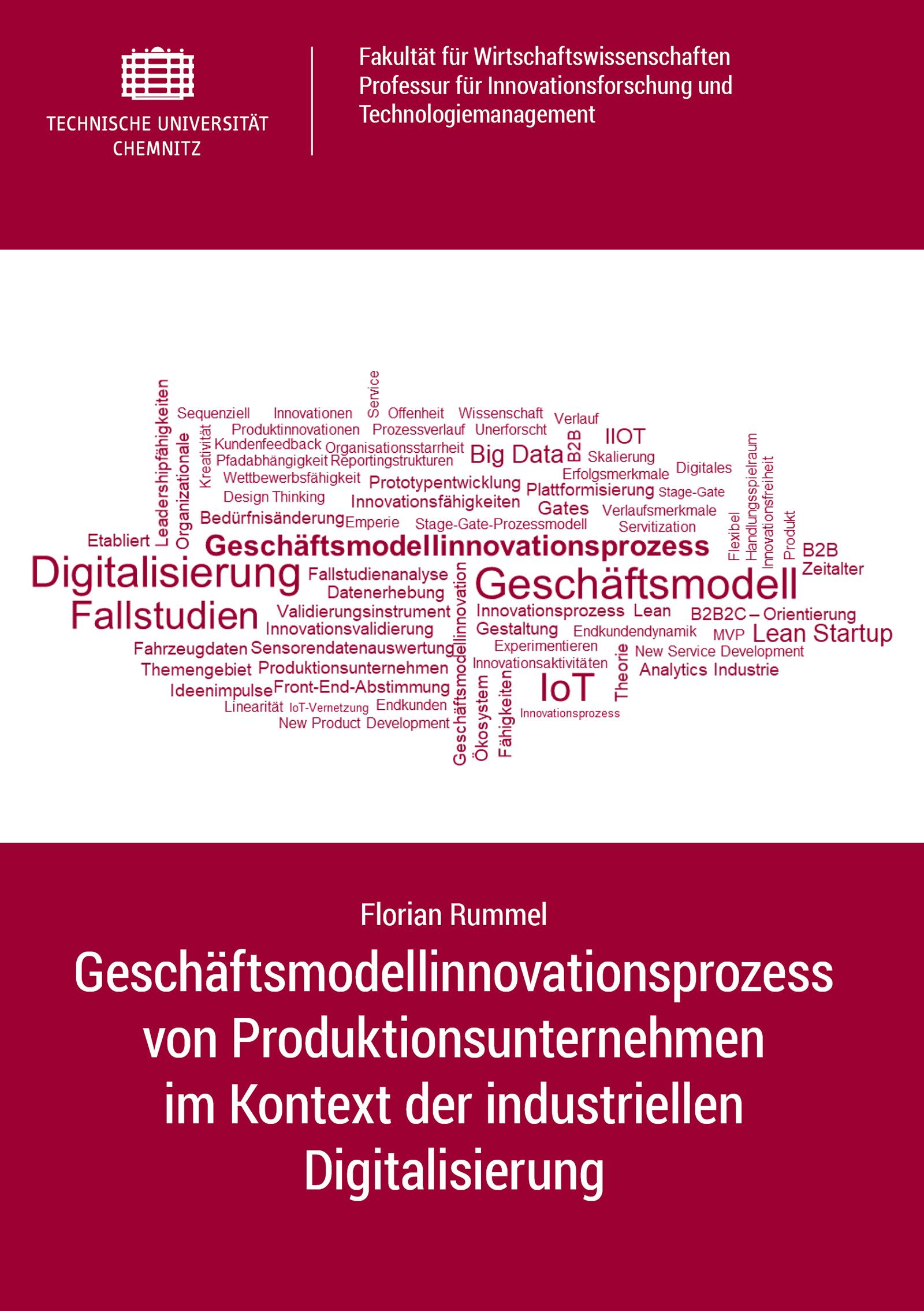 Cover: Geschäftsmodellinnovationsprozess von Produktionsunternehmen im Kontext der industriellen Digitalisierung