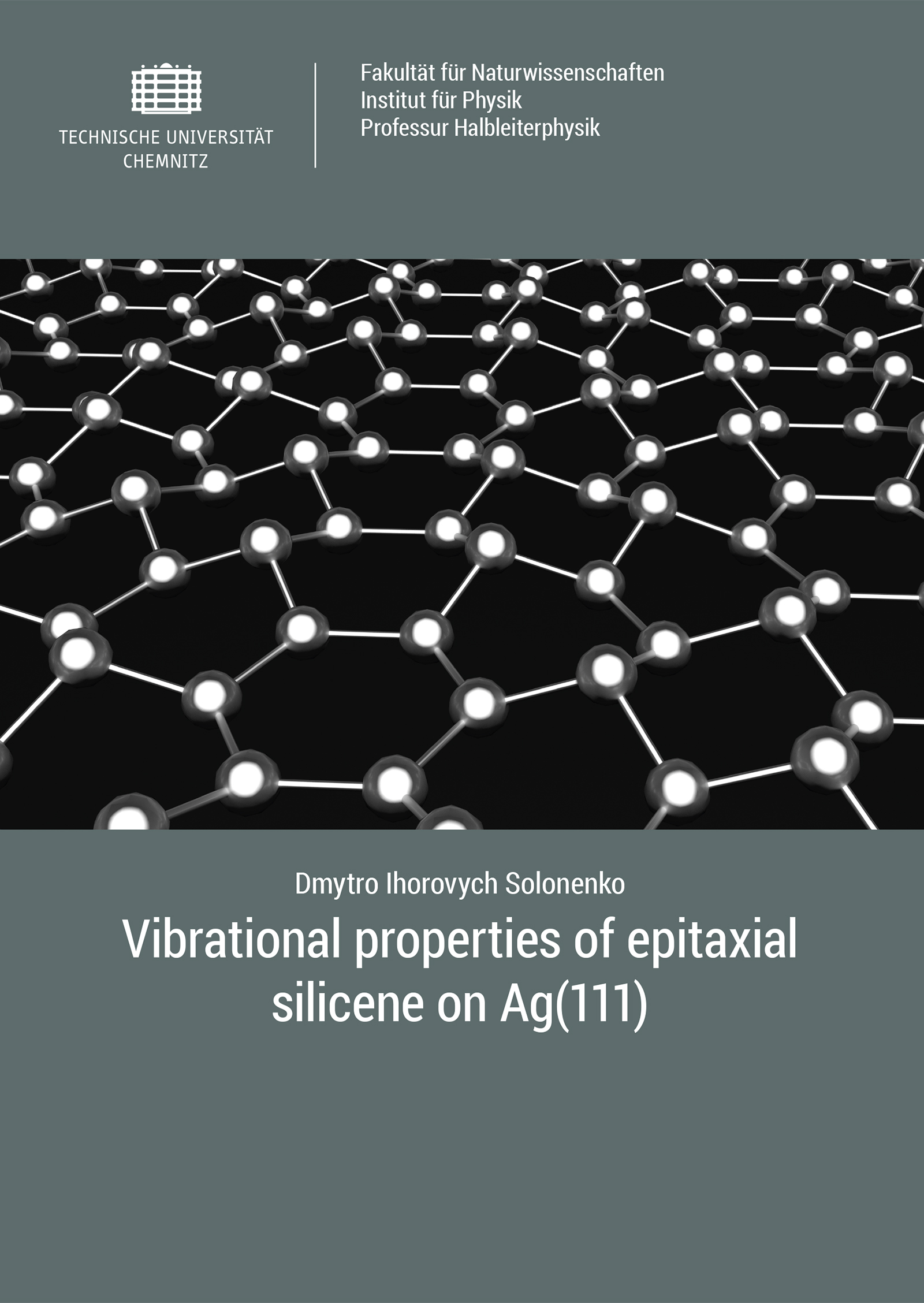Cover: Vibrational properties of epitaxial silicene on Ag(111)