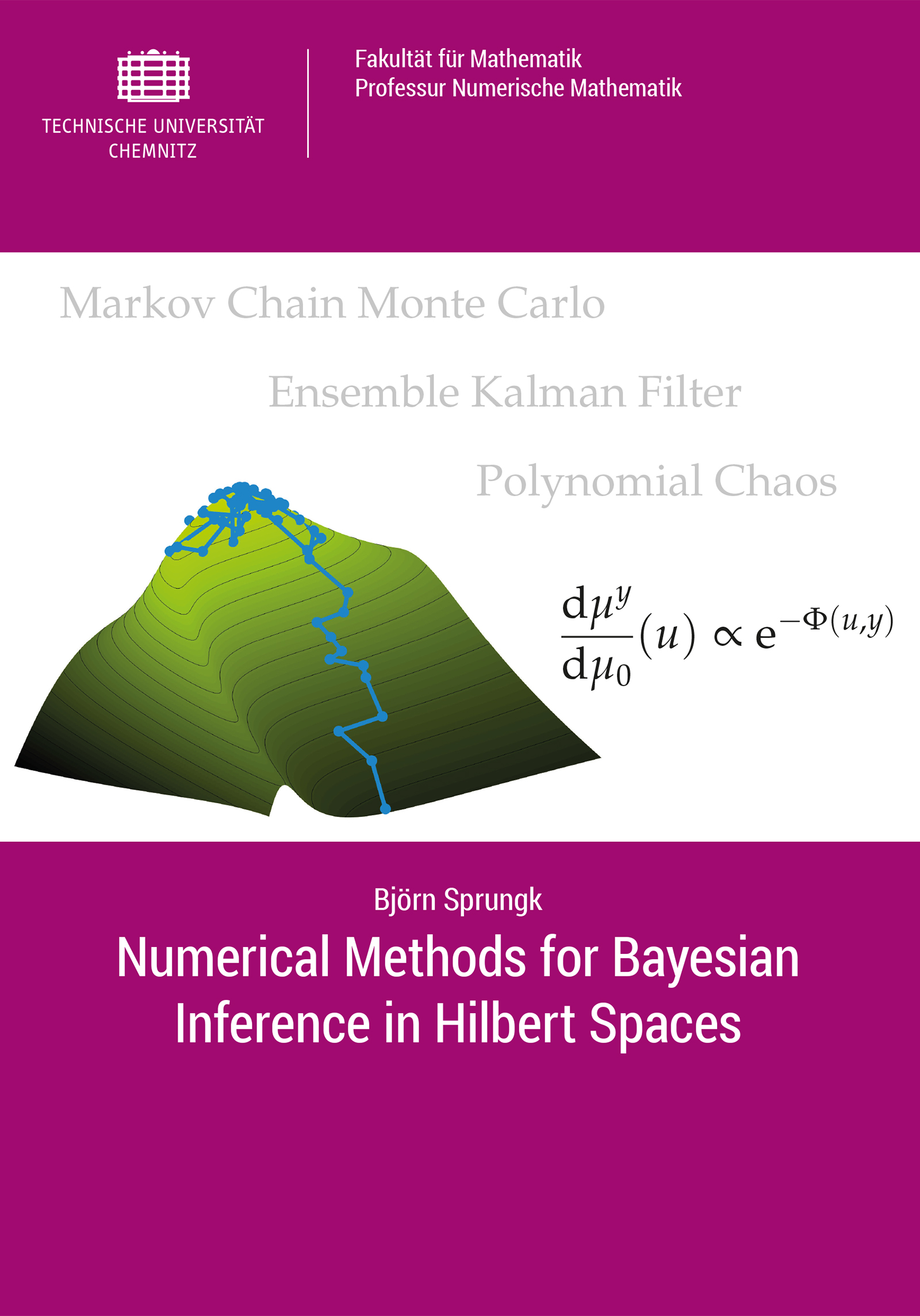 Cover: Numerical Methods for Bayesian Inference in Hilbert Spaces