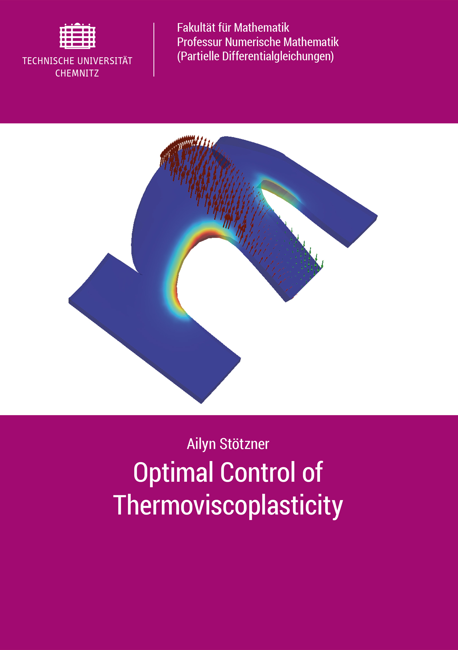 Cover: Optimal Control of Thermoviscoplasticity