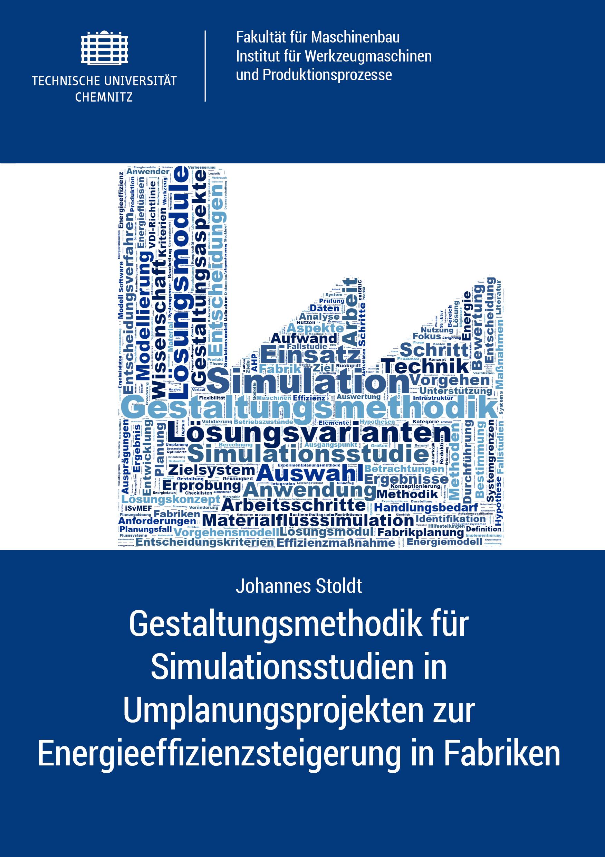 Cover: Gestaltungsmethodik für Simulationsstudien in Umplanungsprojekten zur Energieeffizienzsteigerung in Fabriken