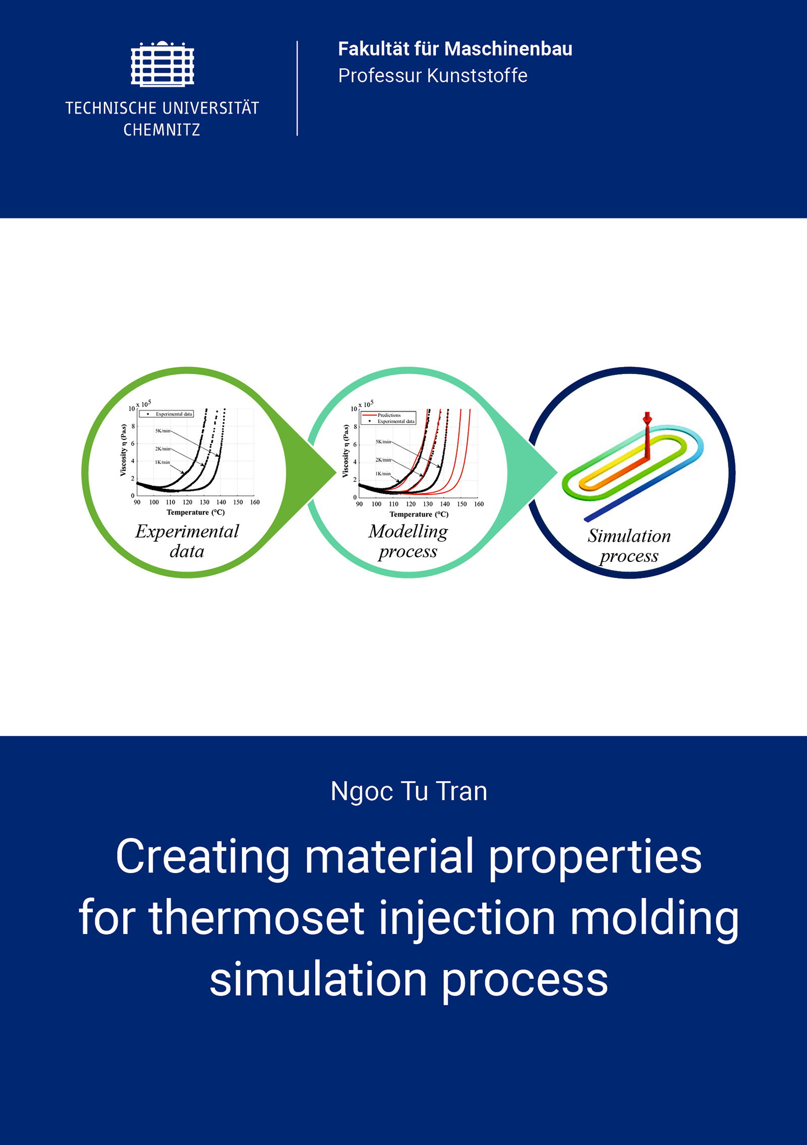 Cover: Creating material properties for thermoset injection molding simulation process