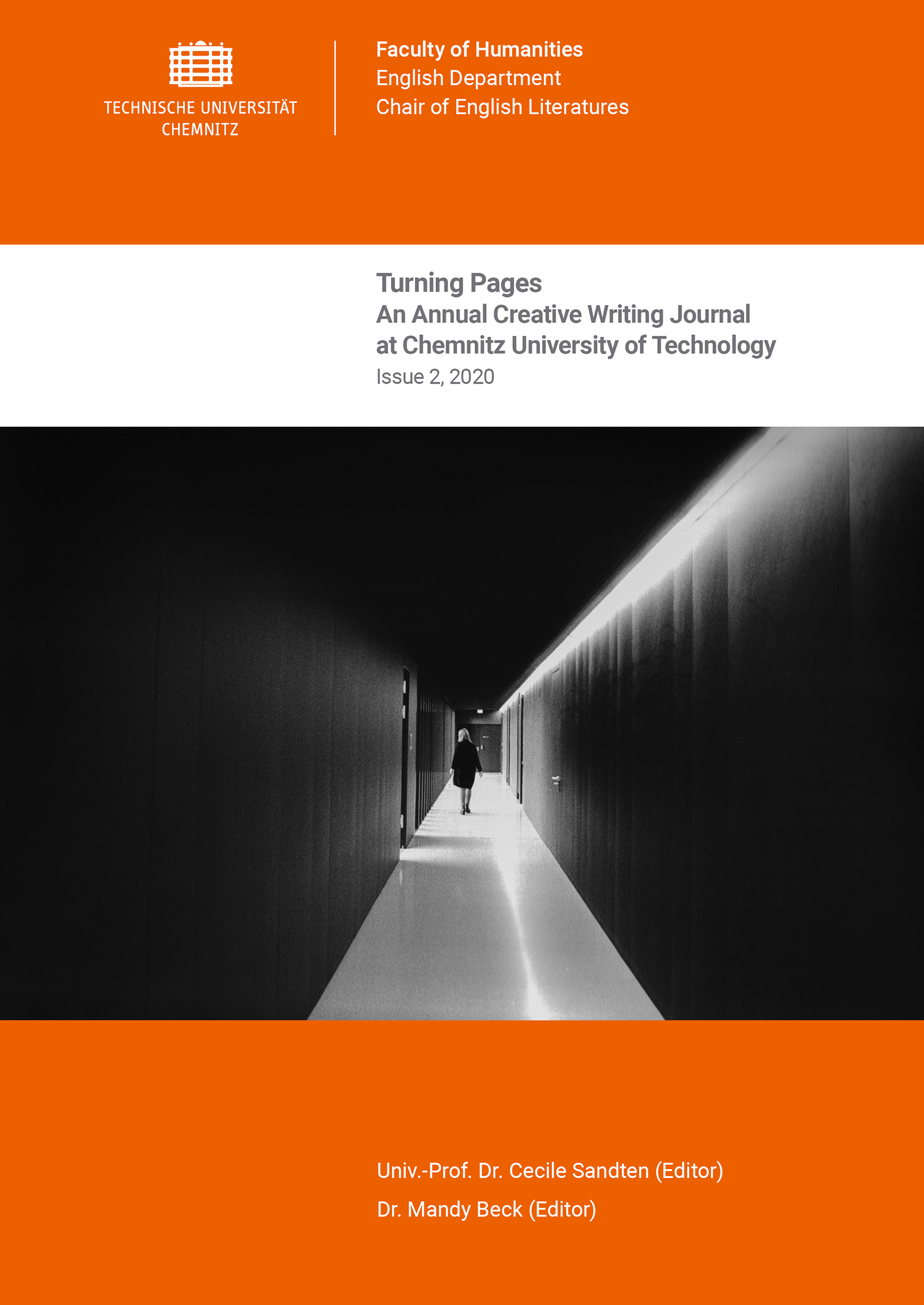 Cover: Turning Pages, Issue 2, 2020 / Editors: Cecile Sandten, Mandy Beck