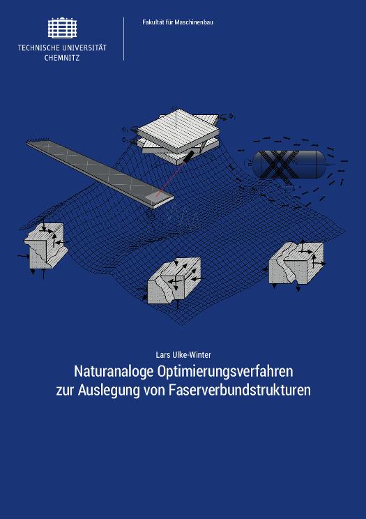 Cover: Naturanaloge Optimierungsverfahren zur Auslegung von Faserverbundstrukturen
