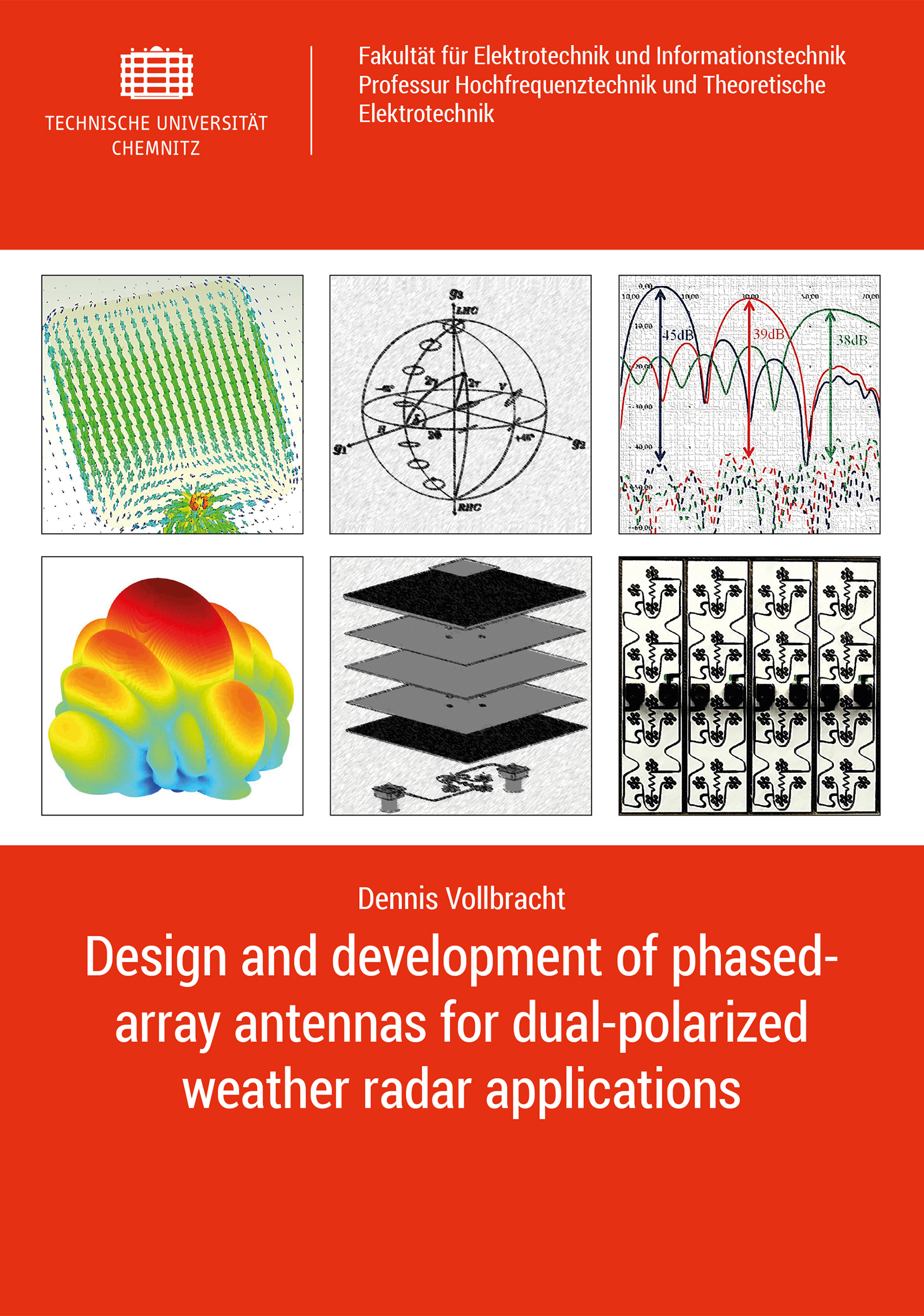 Cover: Design and development of phased-array antennas for dual-polarized weather radar applications
