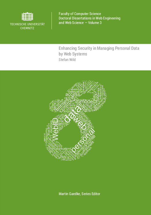Cover: Enhancing Security in Managing Personal Data by Web Systems
