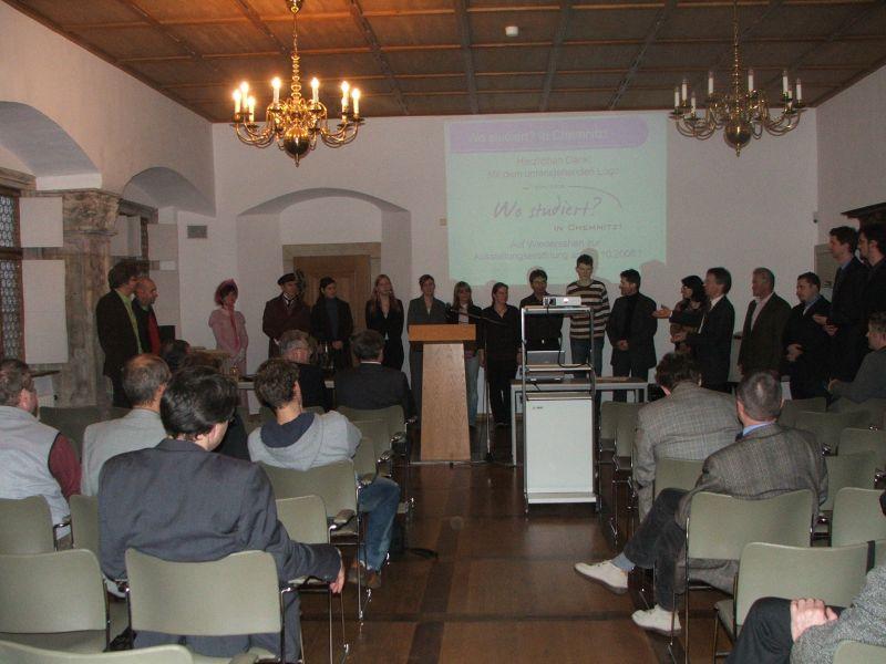 Aktuell 2008 ausstellung studieren projekte service for Hermes verteilzentrum chemnitz