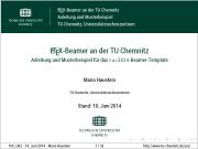 Technische Universitat Chemnitz Tu Chemnitz